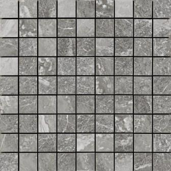 Мозаика Ragno Bistrot Mosaico Crux Grey 30х30