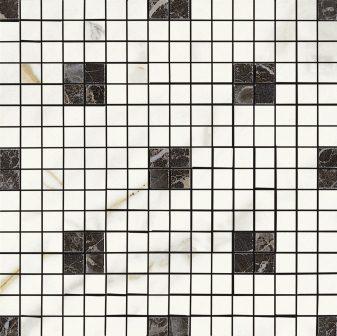 Мозаика Ragno Bistrot Mosaico Calcatta Michelangelo Glossy 29х29