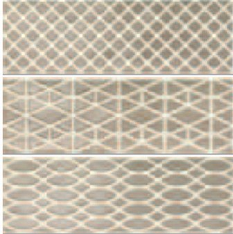 Декор Ragno Brick Glossy Dec Grey 10х30