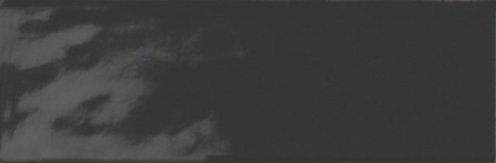 Плитка настенная Ragno Brick Glossy Black 10×30 R4Gn