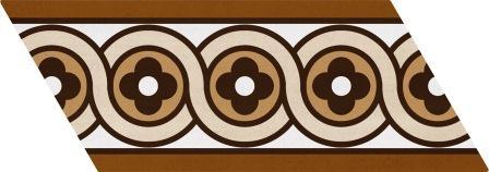 Настенная плитка Equipe Chevron Patchwork Color Derecho 9×20,5 23213