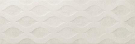 Настенная плитка Newker District Swim Ivory 25×75