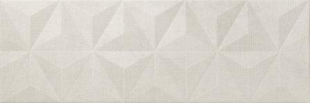Настенная плитка Newker District Mirror Ivory 25×75