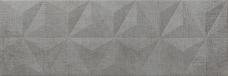 Настенная плитка Newker District Mirror Graphite 25×75