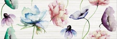 Декор Opoczno Elegant Stripes Inserto Flower 25×75