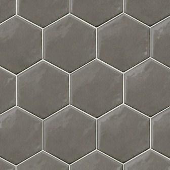 Настенная плитка Equipe Hexatile Gris Oscuro Brillo 17,5×20 20712