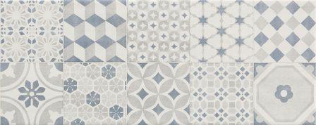 Плитка настенная Ragno Land Decoro White 20×50 R4Ja