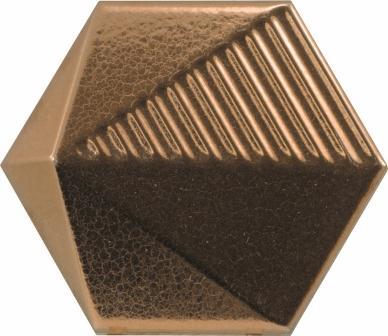 Настенная плитка Equipe Magical Umbrella Metallic 10,7×12,4  23056