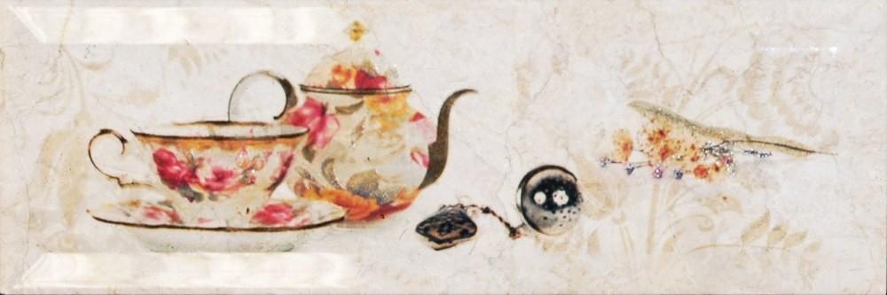 Декор Monopole Mistral Bonjour Tea Marfil 10×30