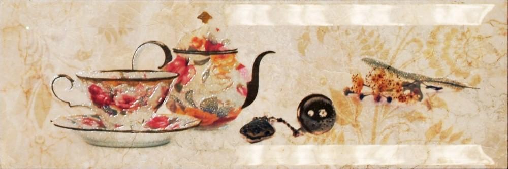 Декор Monopole Mistral Bonjour Tea Crema 10×30