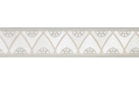 Керамогранит бордюр Grespania Palace Topkapi Blanco 1 9,6х59