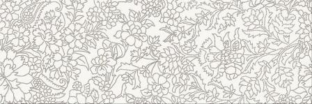 Декор Opoczno Pret A Porter White Inserto Flower 25×75