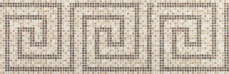 Настенная плитка Newker Puls Mosaico Rodi Brown 29,5×90