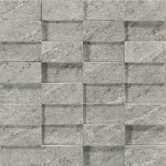 Мозаика Ragno Quarzite Mosaico 3D Grigio 29×29 R08W