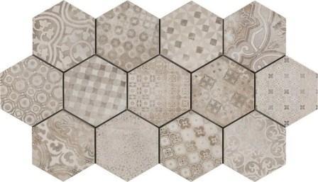 Керамогранит Ragno Rewind Decoro Cementine 18,2×21 R4Dv