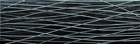 Декор Grespania Siroco Viento Negro (6 Шт.) 25×75
