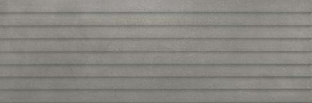 Плитка настенная Ragno Terracruda Piombo St Verso 3D Rett 40×120 R6Mk