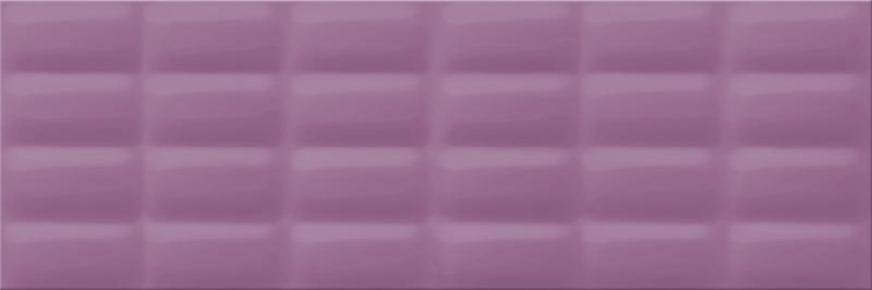 Плитка настенная Opoczno Vivid Colours Violet Glossy Pillow 25×75