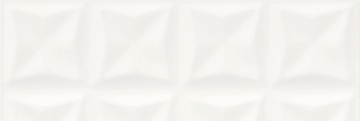 Плитка настенная Opoczno Water Sparkles Origami White Glossy Structure 29,7×60