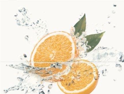 Декор Opoczno Water Sparkles Inserto Orange 59,4×60