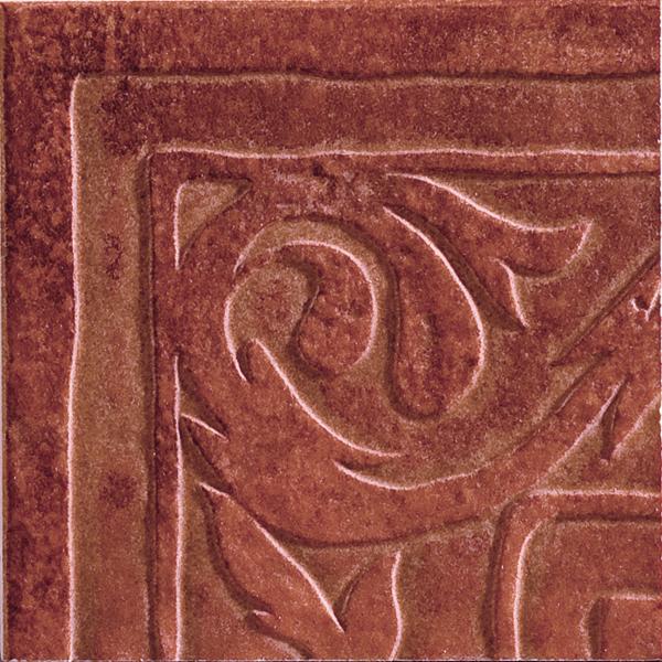 Керамогранит Zeus Ceramica Casa Cotto Classico Angolo Rosso 16х16 Tpx22