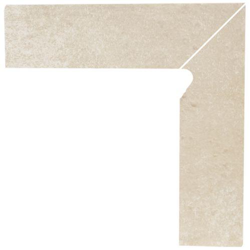 Напольный декор Paradyz Cotto Crema двухэлементный правый 2*30 x 8,1