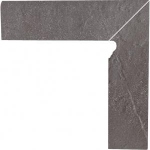 Напольный декор Paradyz Taurus Grys двухэлементный правый 8,1 x 30 x 1,1