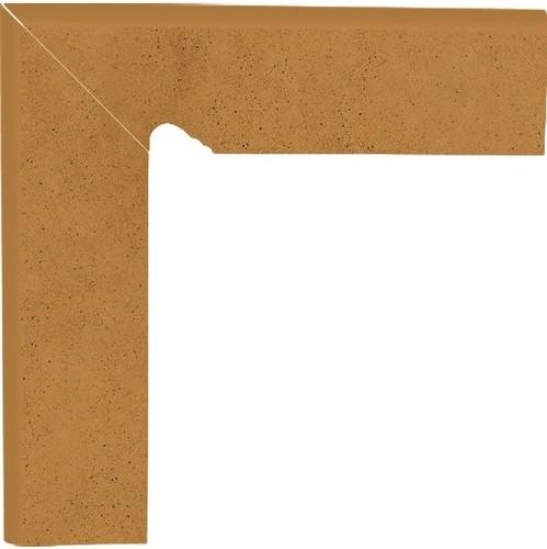 Напольный декор Paradyz Aquarius Brown двухэлементный левый 8,0 x 30 x 1,1