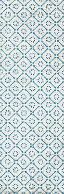 Декор настенный Paradyz Antico Blue B 20 x 60