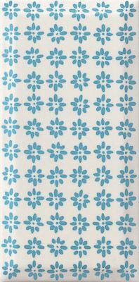 Плитка настенная Paradyz Rodari Blue 9,8 x 19,8