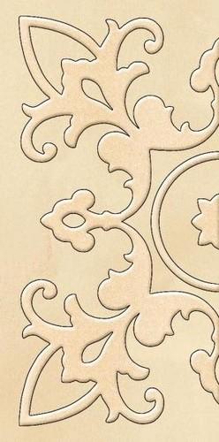Декор настенный Paradyz SABRO Beige WYCINANE 29,5 x 59,5