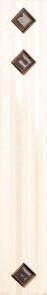 Плинтус настенный Paradyz Secret Bianco kostki MURANO 4,8 x 29,8