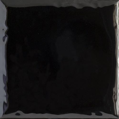 Плитка настенная Paradyz Tamoe Ondulato Nero 9,8 x 9,8