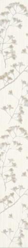 Плинтус настенный Paradyz Sorenta Bianco KWIATY 7 x 60