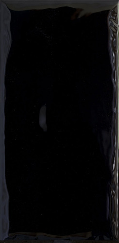 Плитка настенная Paradyz Tamoe Ondulato Nero 9,8 x 19,8