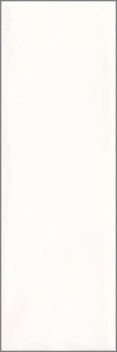 Плитка настенная Paradyz Tamoe Ondulato Bianco 9,8 x 29,8