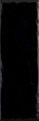 Плитка настенная Paradyz Tamoe Ondulato Nero 9,8 x 29,8