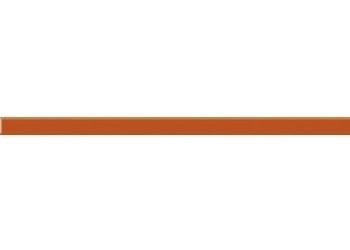Плинтус настенный Paradyz SZKLANA 2,3 x 60 Arancione