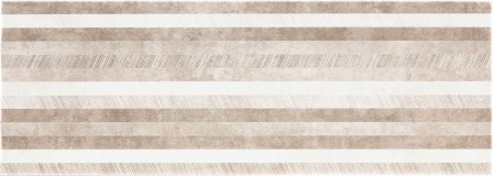 Настенная плитка Atrium Alpha Band Taupe 25х70