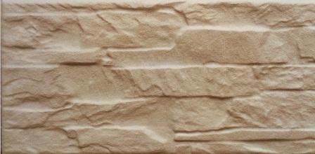 Фасадная плитка Березакерамика Арагон песочный 25×12,5