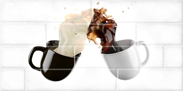 Декор Березакерамика Брик кремовый 30×60 Кофе 1 глянец