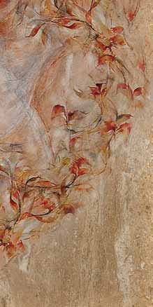 Декор Березакерамика Флоренция 4 25×35 коричневый
