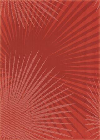 Декор Березакерамика Капри 2 25×35 красный