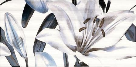 Декор Fanal Allegro Azul Flor -2 25х50