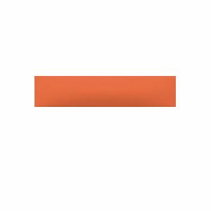 Декор Rako Concept Plus оранжевый WARDT001 20×6