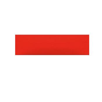 Декор Rako Concept Plus красный WARDT002 20×6
