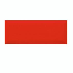 Декор Rako Concept Plus красный WARGT002 25×10