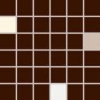 Мозаика Rako Concept Plus коричневый WDM05009 30×30