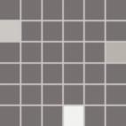 Мозаика Rako Concept Plus темно-серый WDM05011 30×30