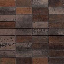 Мозаика Tau Ceramica Corten Mosaico А 3X7 30×30
